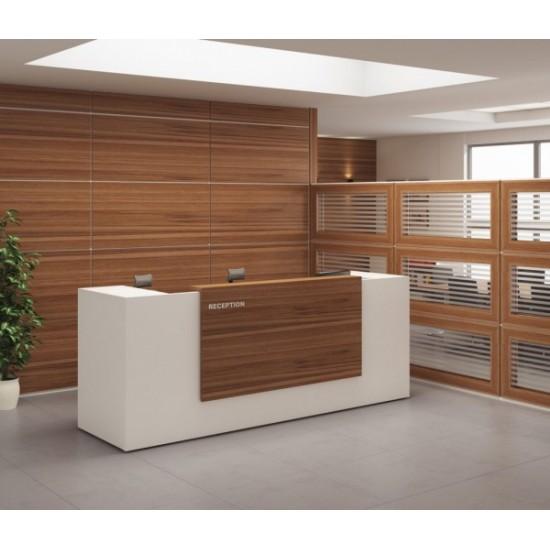 آلفا – پارتیشن دو جداره پانل چوبی و شیشه